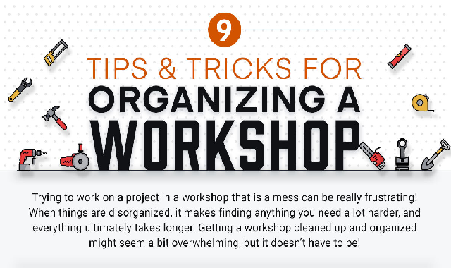 9 Tips and Tricks for Organizing a Workshop #infographic