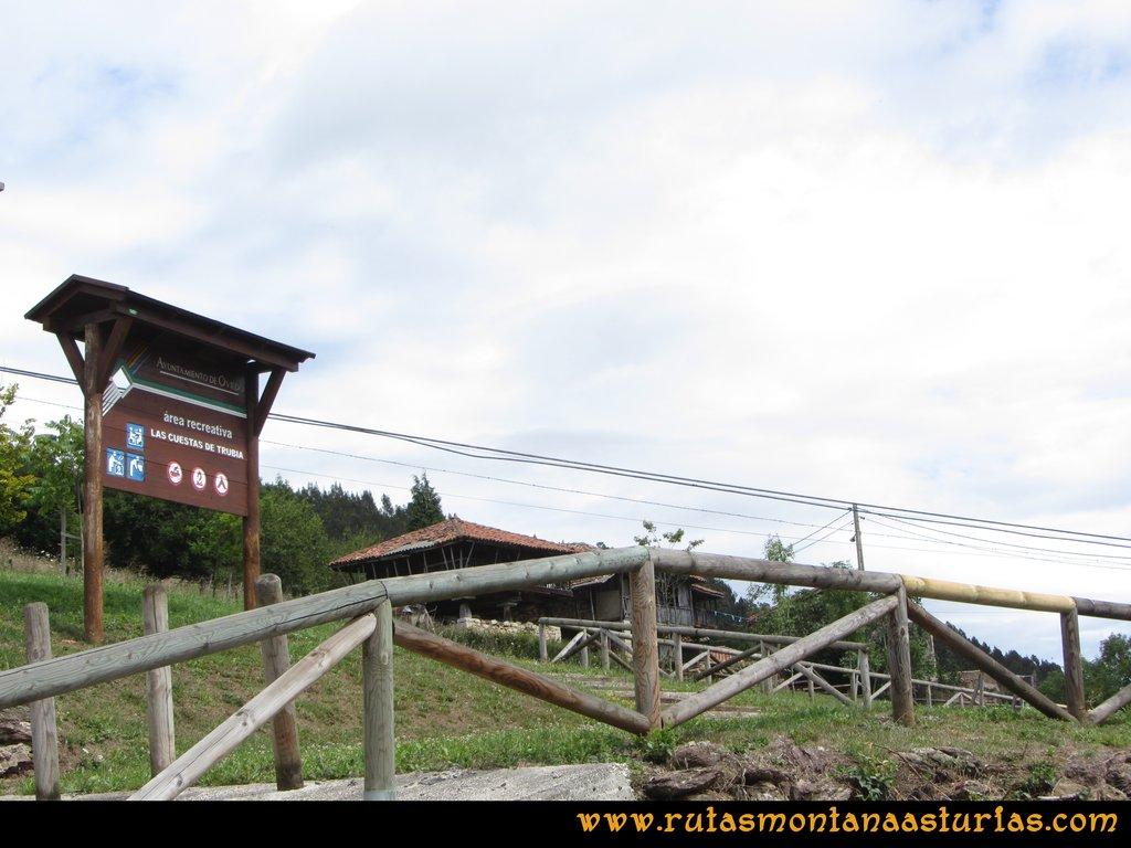 Ruta Cascadas Guanga, Castiello, el Oso: Atravesando las Cuestas de Trubia