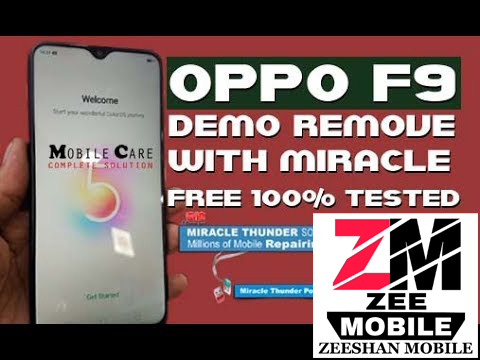 Oppo F9 Pro CPH 1823 Demo Remove Free With Miracle - ZEE MOBILE
