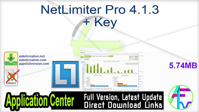NetLimiter Pro 4.1.3 + Key