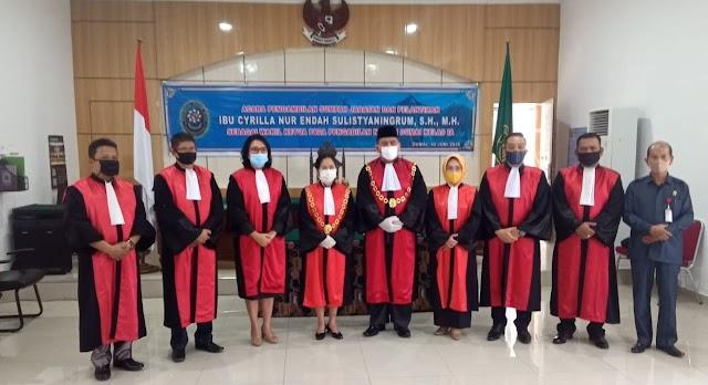 Cyrilla Nur Endah Sulistyaningrum SH MH Jabat Wakil Ketua PN Dumai