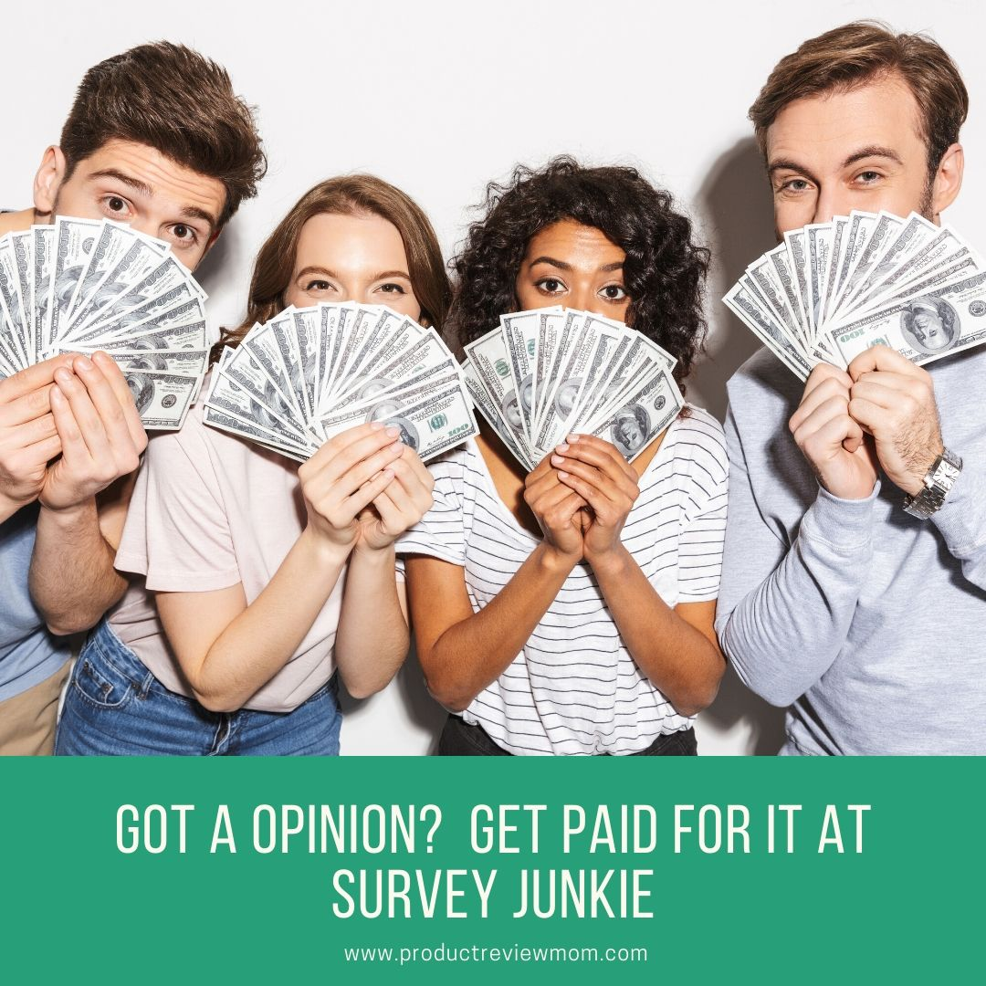 Got a Opinion?  Get Paid for It at Survey Junkie