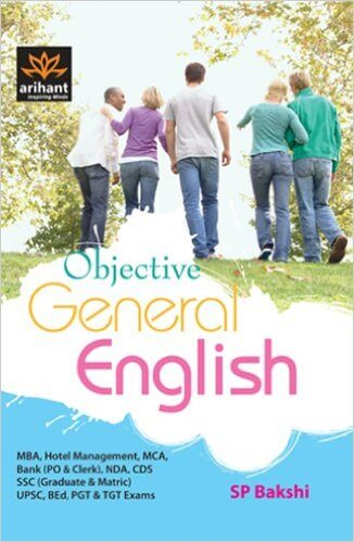 Objective General English Book by SP Bakshi PDF Download