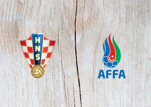 Croatia vs Azerbaijan Full Match & Highlights 21 March 2019