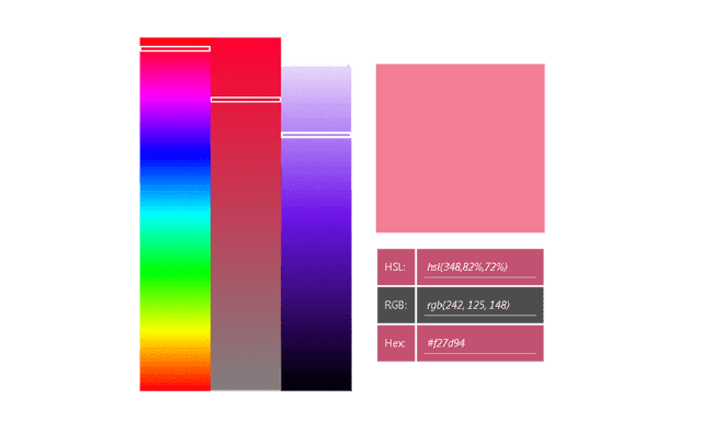 Bar Palette Color Picker