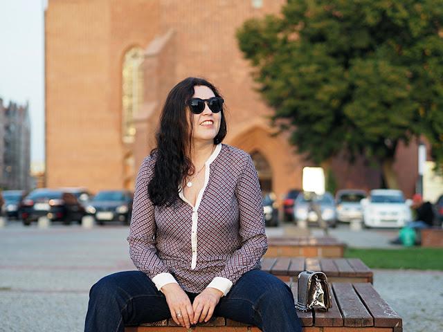 jedwabna bluzka Zara/ Zara silk blouse