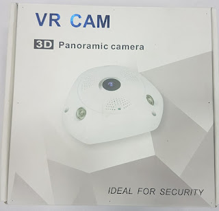 3D panormic IP camera with 360 degree view