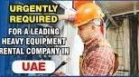 Heavy Equipment Mechanic Job Recruitment in Ras Al Khaimah, UAE