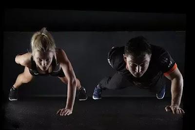 strength training exercise push ups