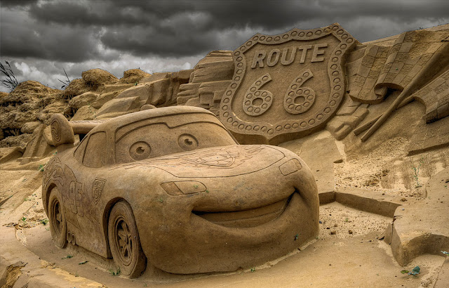 """From the cartoon """"Cars"""". (Photo by Stefano Pizzini)"""