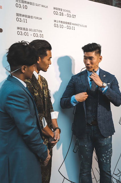 Leo Chan interview GQ Taiwan Suit Walk