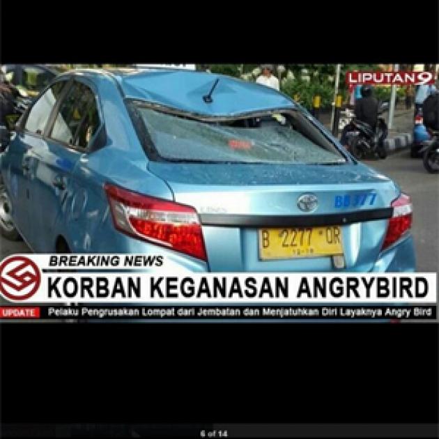 Meme Supir Taksi Bluebird