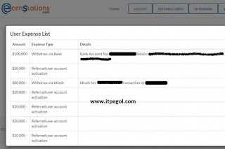 Earnstations Payment Proof