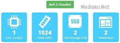 Mencoba Layanan Cloudlet Gratis Dari Rumahweb