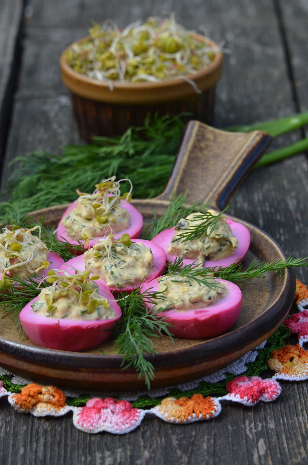 Apetyczna Babeczka Anielska Kuchnia Jajka Faszerowane