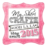 My Sheri Crafts Blog Award 2015