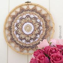 Shams Flower Mandala Pattern