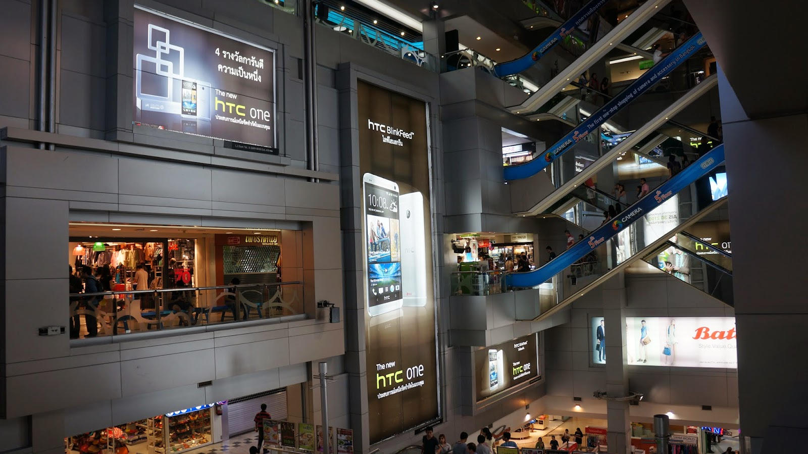 MBK Center, one of the best places in Bangkok for souvenir hunting