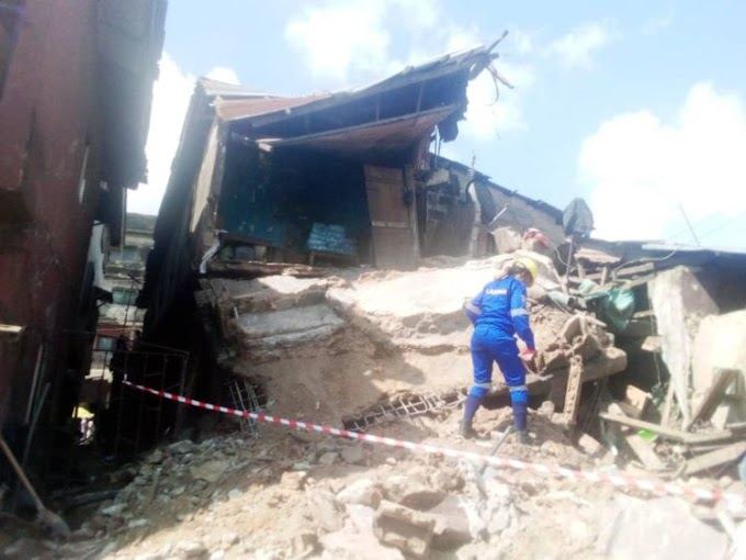 77 escape death as building collapses in Lagos