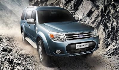 Mobil Ford New Everest