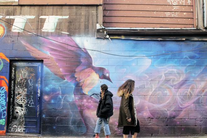 Toronto Kensington Market, Street Art, Selftimers Blog