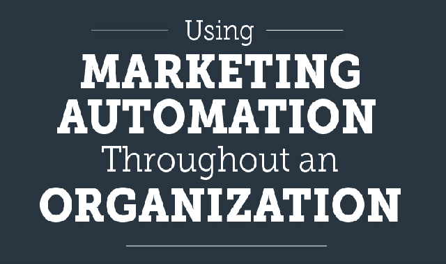 Using Marketing Automation Throughout an Organization #infographic