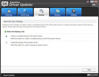 تطبيق supereasy driver updater