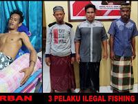 Tiga Nelayan Buang Bom Ikan Kelaut, Tak Disangka Dibawah Laut Ada Penyelam Gurita