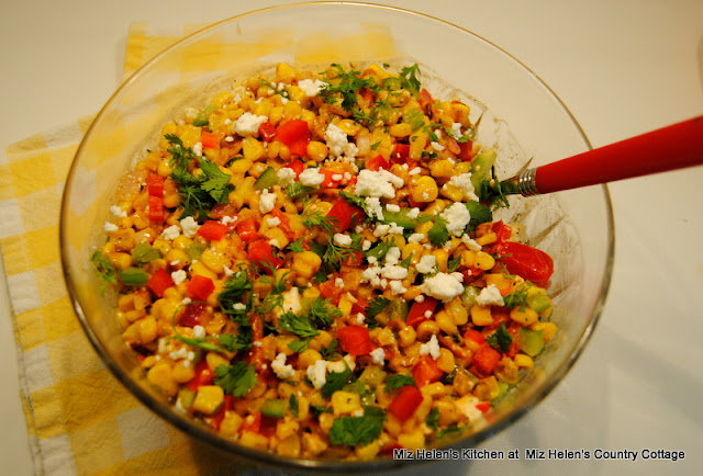 El Rancho Corn Salad at Miz Helen's Country Cottage