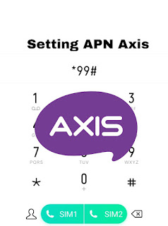 Cara setting apn axis