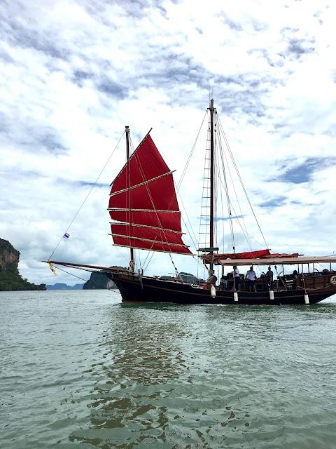 Pang Nga bateau June Bahtra