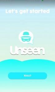 شرح تطبيق unseen