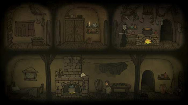 Creepy Tale tells the story of how a peaceful, calm and cozy forest turned into a really frightening place.