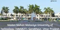 MMM Gorakhpur MET Admission Online Form 2020