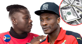 Asamoah Gyan to pay $2 Million bailout amount to free Stonebwoy from Zylofon Media?