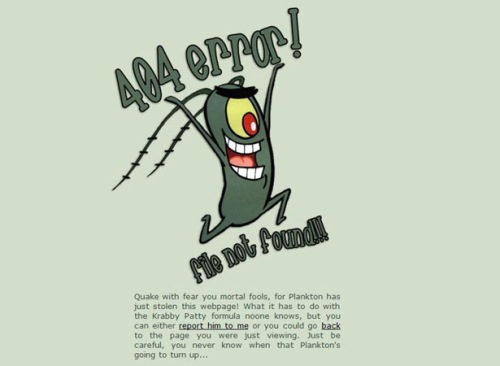 16 Cool And Designer Error 404 Pages For Website