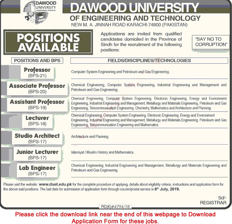 dawood university