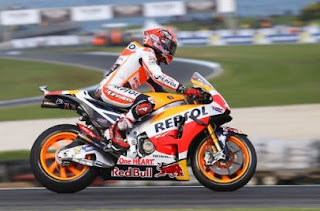 MotoGP Valencia 2016: Marquez Tercepat FP3, Rossi Kesembilan