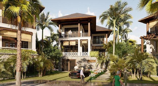 Bán biệt thự Tropical Villas và Santorini Villas tại Sunshine Heritage Resort Hà Nội