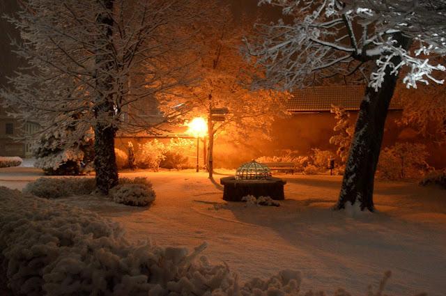 Pewnej zimowej nocy w Prószkowie