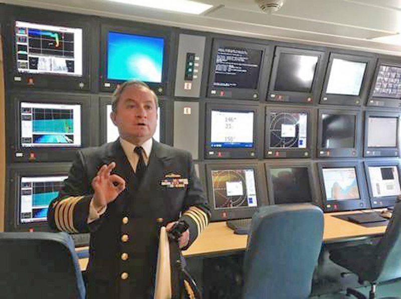 Capitán del Cabo de Hornos cuenta cómo encontraron al ARA San Juan