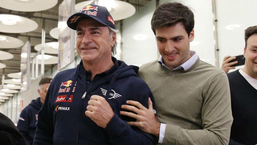 Sainz Sr . Em cinco corridas, sem testes e lutando com um dos melhores ...