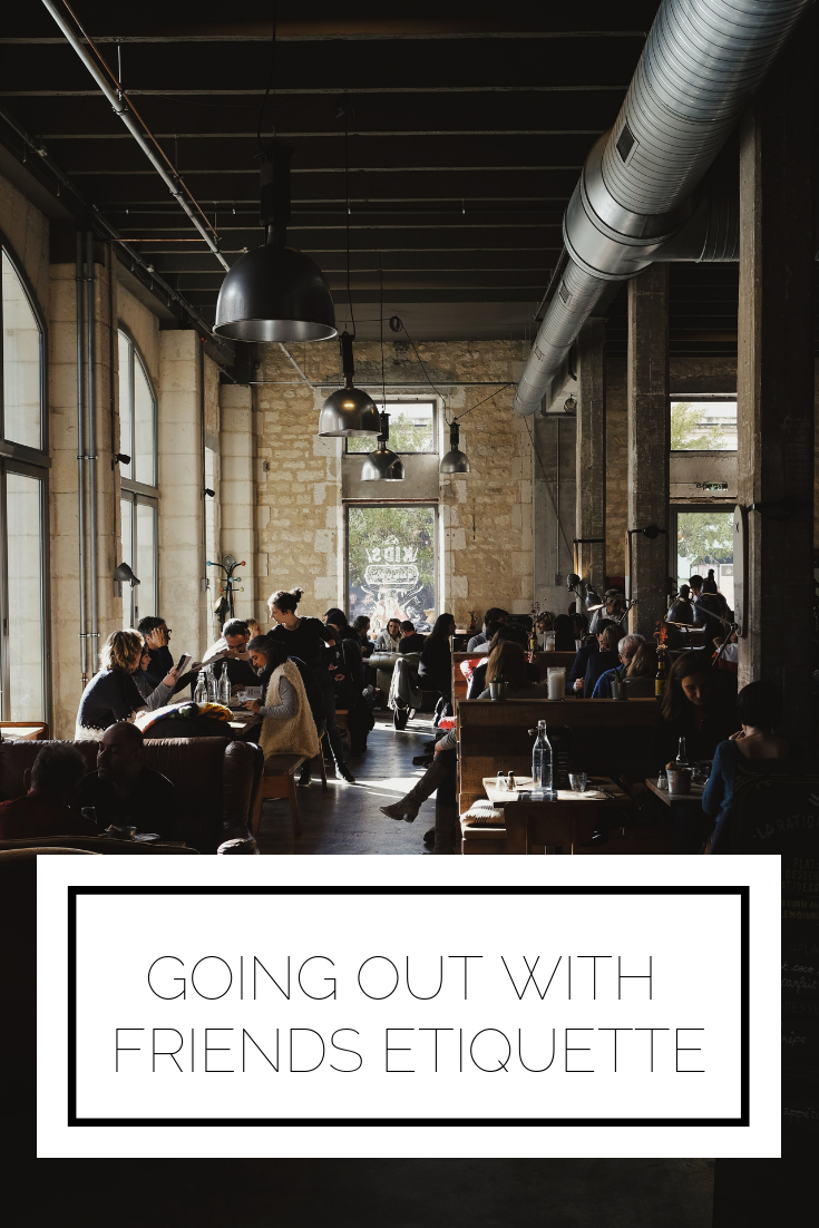 Click to read now or pin to save for later! Ever wonder how to split the bill, or choose a restaurant, with the right etiquette? Here's your guide on going out with friends