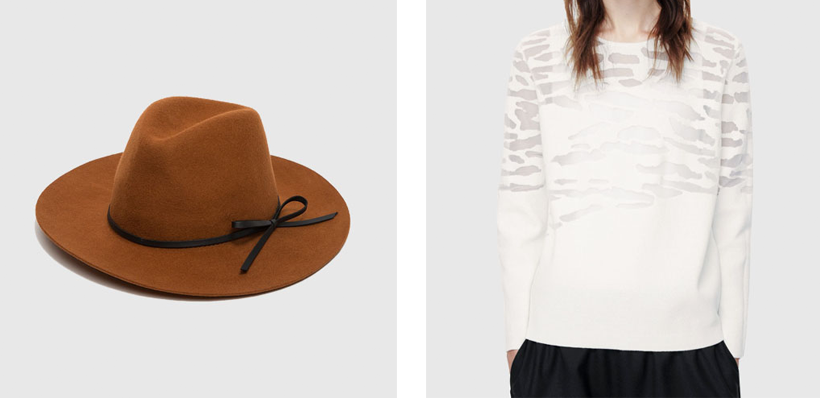 Need Supply Co hat // COS jumper