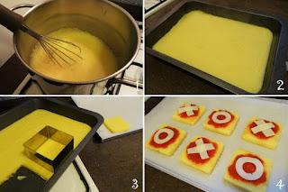 foto preparazione pizza polenta per bambini