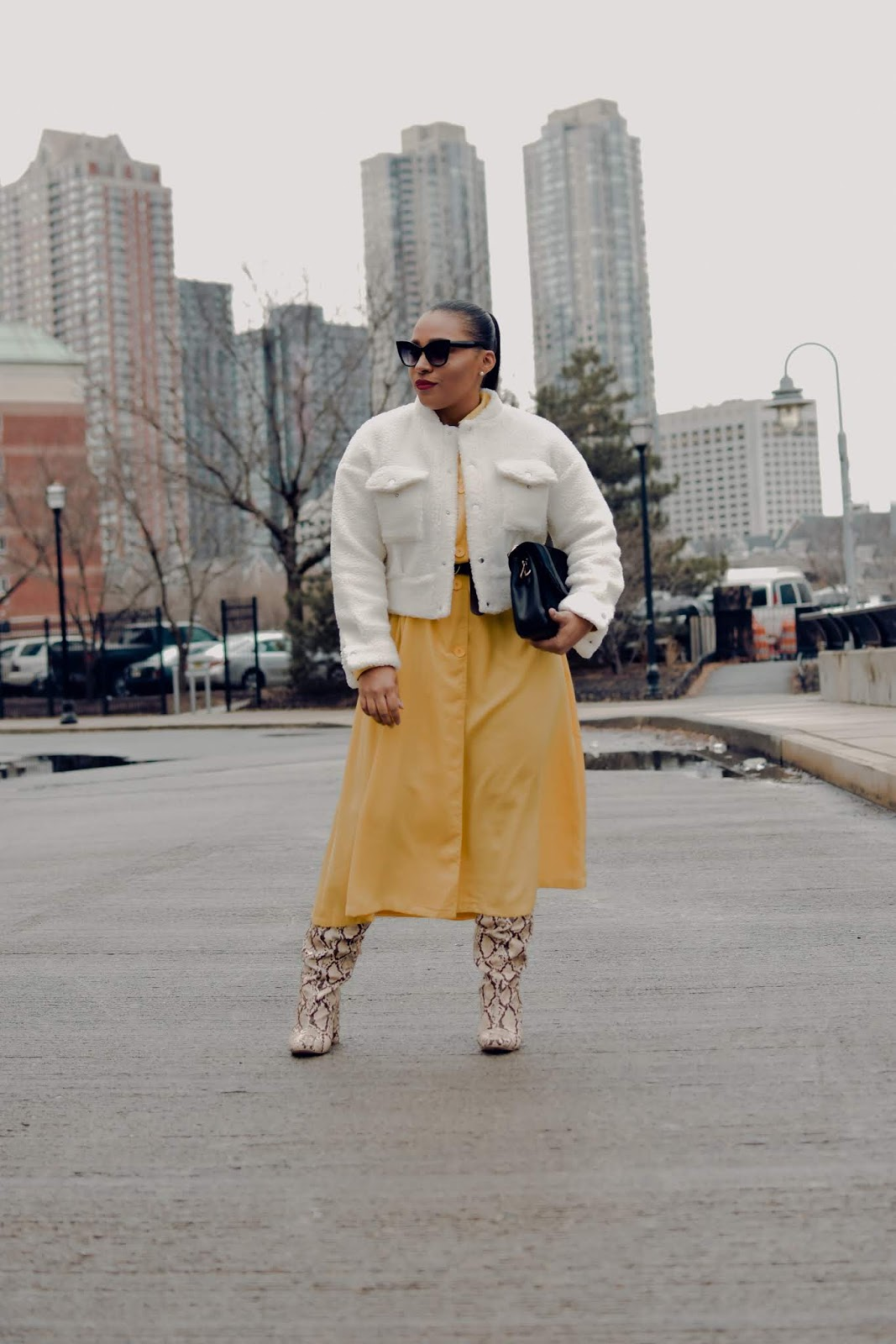 shein, shein clothing reviews, nyfw, new york fahsion week, nyfw streetstyle, over the knee boots, shein coats