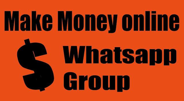earn money online whatsapp group