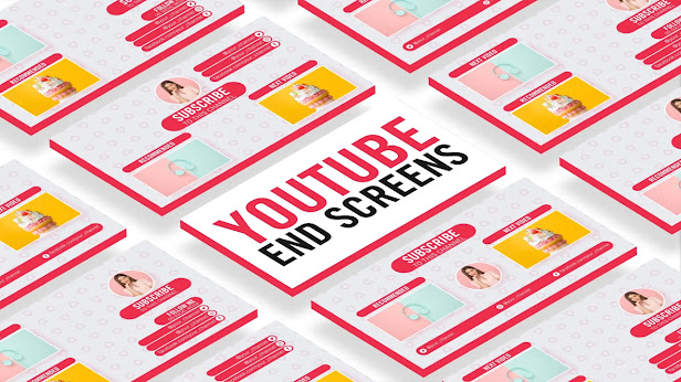 YouTube Outro End Screen Template - After Effects Template