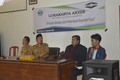Lokakarya Akhir KKN-M 2018 Universitas Langlangbuana
