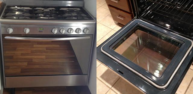 أحلى وأسهل طريقة لتنظيف زجاج فرن الغاز وجعله يلمع كالمرآة بسرعة وبطريقة بسيطة في المنزل!